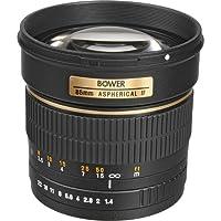 Bower sly85高速ミッドレンジ85mm f / 1.4望遠レンズ