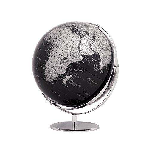 emform Tischglobus Juri Black, Metall & Kunststoff, 300 x 360 mm