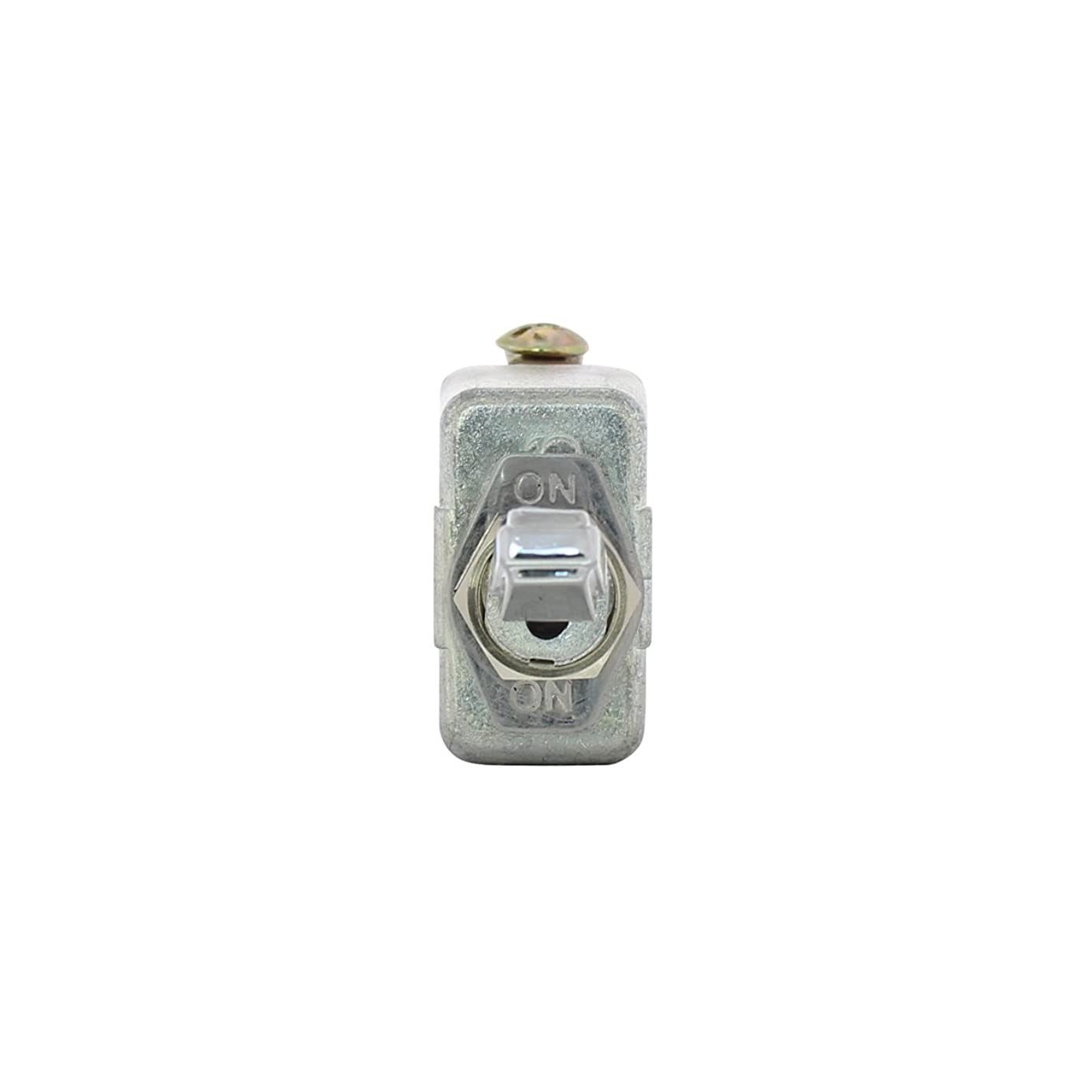 United Pacific 40005 CHROME HANDLE 50 AMP ON - OFF - ON HEAVY DUTY TOGGLE SWITCH