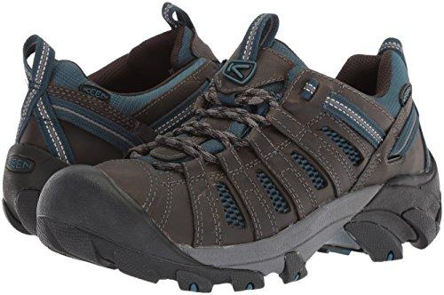 KEEN Men's Voyageur-M Hiking Shoe, Alcatraz/Legion Blue, 11 M US