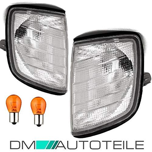 DM Autoteile -Benz E-Klasse 84-95 Frontblinker Blinker Set Weiß W124 S124 C124 A124