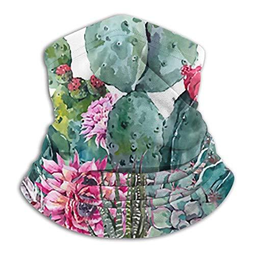 LENGDANU Polaina para el cuello, máscara de sol, máscara mágica bufanda, pasamontañas, Color: 4., M