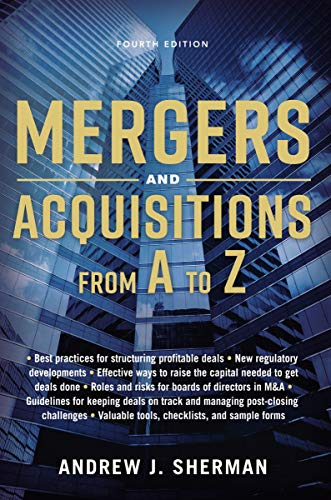 Compare Textbook Prices for Mergers and Acquisitions from A to Z Fourth Edition ISBN 9780814439029 by Sherman, Andrew