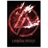 LaMAGLIERIA Hochqualitatives Poster - Linkin Park Texure