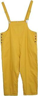 D DOLITY 全5サイズ2色 女性 バギーパンツ ジャンプスーツ ストラップ ハーレムズボン オーバーオール 通気
