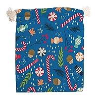 引きひも袋 巾着袋 2個セット かわいい クリスマス キャンバスバッグ 収納ポーチ クリスマスプレゼント ギフトバッグ お菓子袋 アクセサリーポーチ ラッピング袋 小物入れ 雑貨 ギフト用 旅行 キャンディークッ 返礼品用