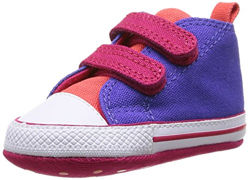 Converse Chuck Taylor Crib Scratch, Baby Babyschuhe - Lauflernschuhe Violett Violet (Violet/Framboise) 18