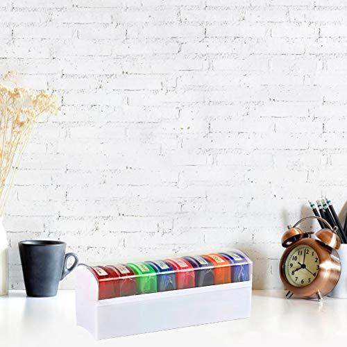 Flower205 8pcs Coloré Enseignant Sceau Set École Nivellement Enseignant Timbre pour HN-PP103 Commentaire de l'enseignant.
