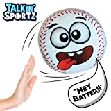 Talkin' Sports, Hilariously Interactive Toy Baseball with Music and Sound FX for Kids and Toddlers by...