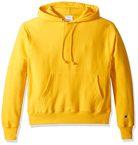 Champion LIFE Men's Reverse Weave Pullover Hoodie, Team Gold, X Small