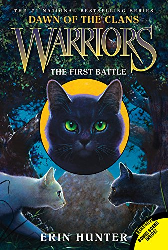 Warriors: Dawn of the Clans #3: The First Battle (White Cat With Blue Eyes For Sale)