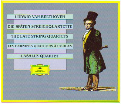 Beethoven;The Late String Quartets