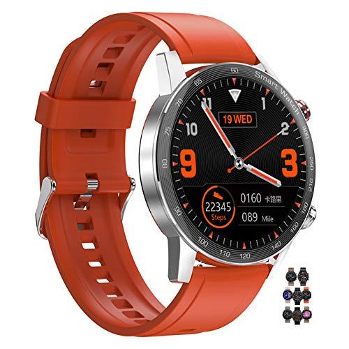 HQPCAHL Smartwatch for Women Men Fitness Tracker Admite Reproducción Música Local/Conectar Auriculares TWS/Llamada Bluetooth / IP67 A Prueba Aguaactivity Tracker for Android iOS,G