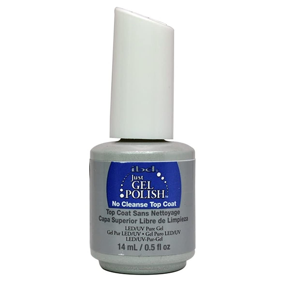 夫切り下げのみibd Just Gel Nail Polish - No Cleanse Top Coat - 14ml / 0.5oz