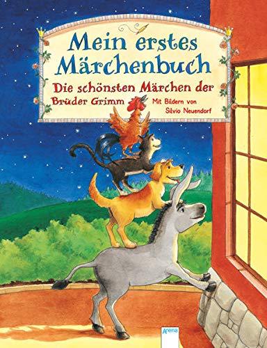 Mein erstes Märchenbuch: Die schönsten Märchen der Brüder Grimm. Vorlesebuch ab 4 Jahren (Edition Bücherbär)