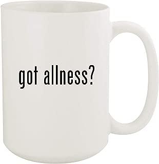 got allness? - 15oz White Ceramic Coffee Mug