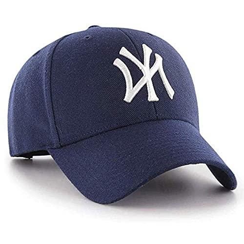 MoohMaya Men's Women's All-Purpose Outdoor Super Sports NY Cap (Blue)
