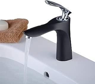 TRUSTMI par cl/ásico de grifo de lavabo del ba/ño de pilar de lat/ón grifos de la ba/ñera grifo caliente y fr/ío de la ba/ñera cromo pulido