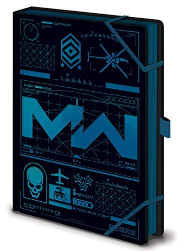 Call of Duty: Modern Warfare notitieboek A5 Premium (Icone)