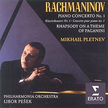 Rachmaninov - Piano Concerto No. 1/Rhapsody on a theme of Paganini
