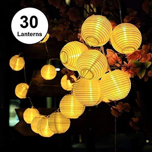 Qomolo Guirnaldas de Luces,30 LED Iluminación De Arbol de
