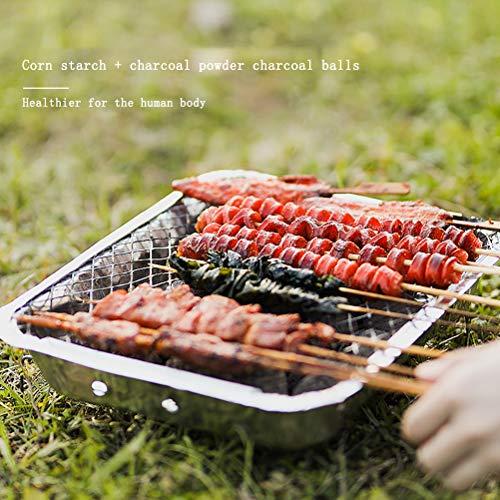51jrOnfX9yL. SL500  - Rapoyo Griller: Handliche Einweggrills, Sofortgrill Holzkohlegrill, instant BBQ, Lange Brenndauer, Pocket Grill für Camping, Picknicks oder einfach für Ihren Garten