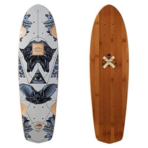 Fireball Arbor x Supply Co. Longboard Skateboards (Various Models) (Pocket Rocket - Bamboo (27'), Deck Only)
