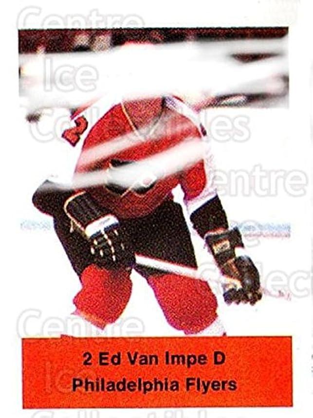 (CI) Ed Van Impe Hockey Card 1974-75 NHL Action Stamps 207 Ed Van Impe