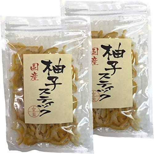 国産柚子スティック 100g×2袋