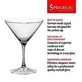 Spiegelau & Nachtmann, 4-teiliges Cocktailgläser-Set, Kristallglas, 165 ml, Perfect Serve, 4500175 - 3