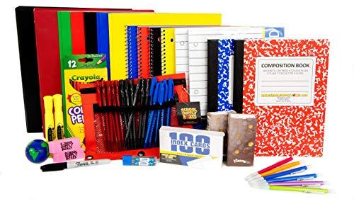 Secondary School Essentials Back to School Kit - School Supplies Bundle - 51 Pieces