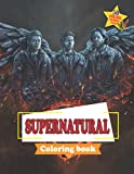 Supernatural Coloring Book: The Official Book Of Creepy Myth Monsters, Demons And Spirits