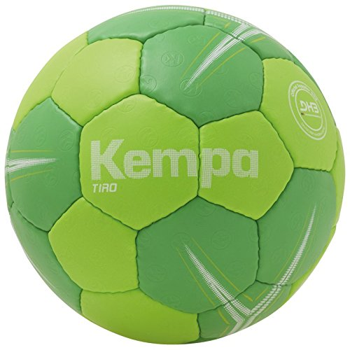 Kempa Tiro Lite Profile Ball Handball, Fluo grün/Grün, 1