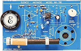 Elenco  Two IC AM Radio Kit   Lead Free Solder   Great STEM Project   SOLDERING REQUIRED