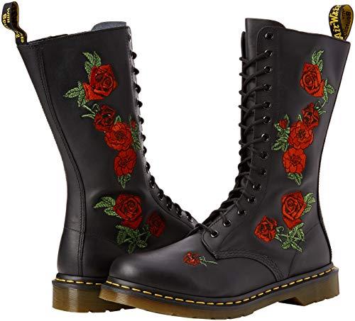 Dr. Martens Women's 14-Eye Vonda Casual Boot, Black