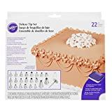 Wilton Decorating Piping Tip Set, 22 Pieces