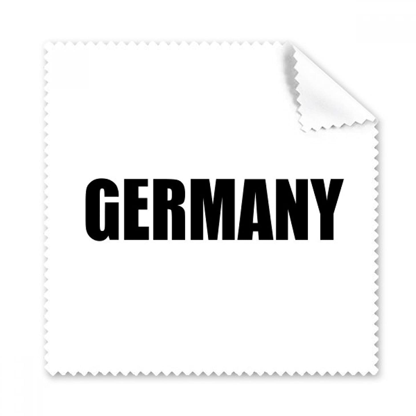 Germany Country Name Black Glasses Cloth Cleaning Cloth Phone Screen Cleaner 5pcs Gift