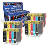 Alaskaprint 20 kompatible Druckerpatronen als Ersatz für Canon PGI-525 XL + CLI-526 XL für Canon Pixma IP4850 IP4950 MG5250 MX895 MG6150 MG5350 MG8150 MG5150 MX885 IX6550 MG6100 MG6200 MG6250 MG8250 MG5300 IP4900 IP4840
