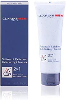 Clarins Men 2 in 1 Exfoliating Cleanser, 125ml