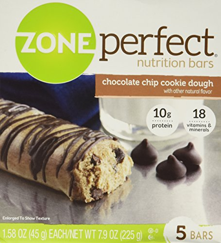 ZonePerfect Protein Bar Chocolate Chip Cookie Dough - 5 ct/7.9oz