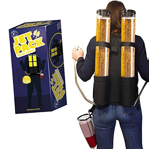 Dispensador de Bebidas Duo |Beer Jet Pack |Backpack 2 Tanques de 3L | 2 boquillas de Cerveza | Bebidas | Fiesta | OriginalCup®