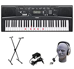 Yamaha EZ-220 Lighted Key Portable Keyboard - Best Piano Keyboards and Digital Pianos