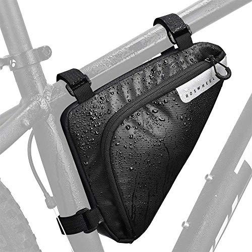FINSHN Alta capacidad de bicicletas Fram bici del bolso del bolso del triángulo del tubo del frente resistente al agua de ciclo bolsa de almacenamiento Paquete postizo de una silla bolsa for bicicleta