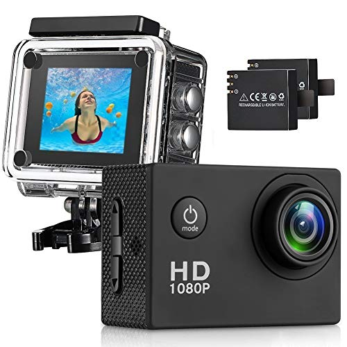Busuo 170 Wide Angle Lens Full HD 2 inch LCD 30m Waterproof...
