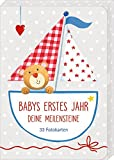 Fotokarten-Box - BabyGlück - Babys erstes Jahr - Deine Meilensteine: 33 Fotokarten