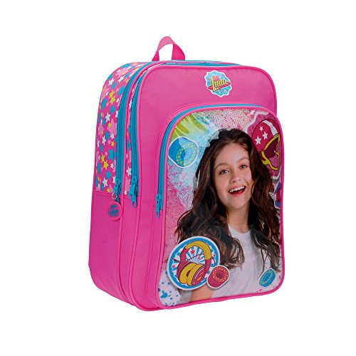 Disney 4742451 Luna Star Mochila Escolar, 19.2 litros, Color Rosa