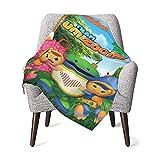 Yes i DO Team Umizoomi Baby Blanket for Kids Super Soft Blanket Fleece Toddler Blanket 30x40 Inch