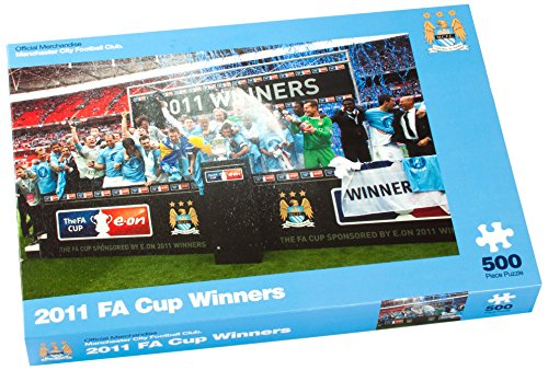 Paul Lamond Manchester City 2011 FA Cup-Sieger Gewinner Puzzle