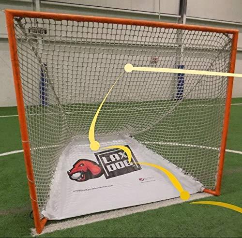 Goal Sports Innovation Lacrosse Goal Ball Return/Retriever Insert for 6'x6' Lacrosse Goals, A Lacrosse rebounder for Shooting Training Practice Lax Dog