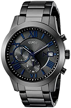 GUESS Stainless Steel Gunmetal Chronograph Bracelet Watch with Date Color  Gunmetal  Model  U0668G2